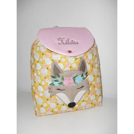 sac à dos enfant renard